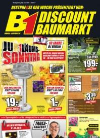 B1-Discount B1-Discount Prospekt KW13 März 2015 KW13