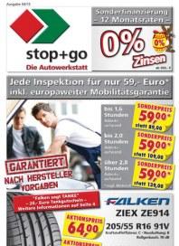 stop+go Stop+Go Prospekt KW14 April 2015 KW14