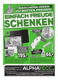 AlphaTecc Alphatecc Prospekt KW15 April 2015 KW15