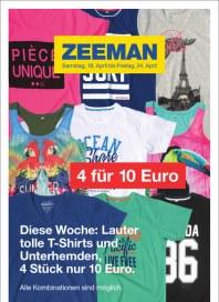 Zeeman Zeeman Prospekt KW16 April 2015 KW16