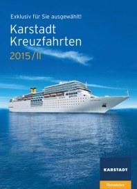 Karstadt-Reisen Karstadt-Reisen Prospekt KW 18 April 2015 KW18