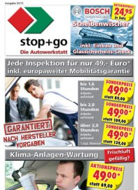 stop+go stop+go Prospekt KW 18 Mai 2015 KW18