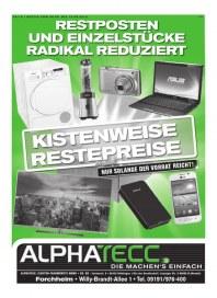 AlphaTecc Alphatecc Prospekt KW 24 Juni 2015 KW24