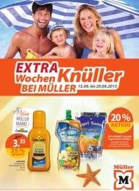 Müller Mu00fcller Prospekt KW 25 Juni 2015 KW25