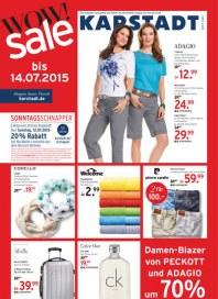 KARSTADT Karstadt Prospekt KW 28 Juli 2015 KW28