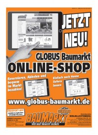 Globus Baumarkt Globus Baumarkt Prospekt KW 34 August 2015 KW34