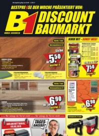 B1-Discount B1-Discount Prospekt KW 36 August 2015 KW35