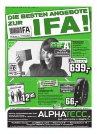 AlphaTecc Alphatecc Prospekt KW 37 September 2015 KW37