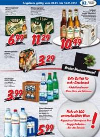 Getränkeland Getränkeland Angebote Januar 2012 KW02