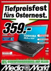 MediaMarkt Tiefpreisfestr fürs Osternest März 2012 KW13