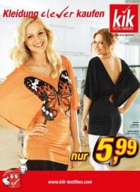 Kik Kleidung clever kaufen April 2012 KW14