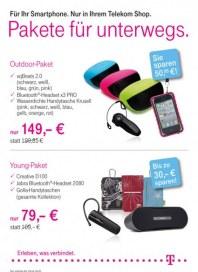 Telekom Shop Pakete für Unterwegs März 2012 KW13