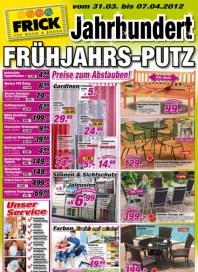 Frick für Wand & Boden Preise zum abstauben März 2012 KW13
