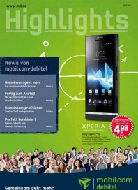 mobilcom-debitel Highlights -  April April 2012 KW13