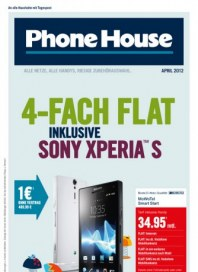 Phone House 4-fach-Flat April 2012 KW13