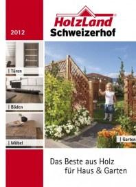 HolzLand Schweizerhof Das Beste aus Holz für Haus & Garten April 2012 KW13