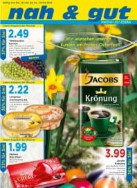 Edeka Wir wünschen unseren Kunden ein frohes Osterfest April 2012 KW14