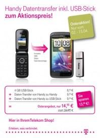 Telekom Shop Osteraktion April 2012 KW14