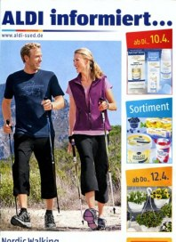 Aldi Süd Nordic Walking - Trendsport für alle April 2012 KW15