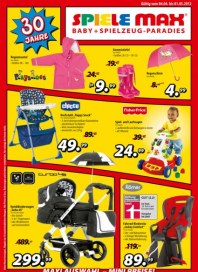 Spiele Max Babyartikel April 2012 KW14