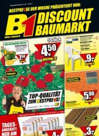 B1 Discount-Baumarkt Top-Qualität zum Bestpreis März 2012 KW13