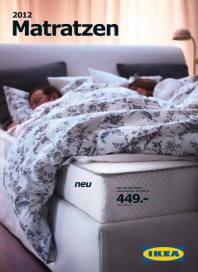 Ikea Matratzen im Jahr 2012 Januar 2012 KW52