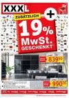 XXXL Möbelhäuser Zusätzlich 19 % MwSt geschenkt!-Seite1