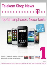 Telekom Shop Aktionstarife! Im April 2012 April 2012 KW14