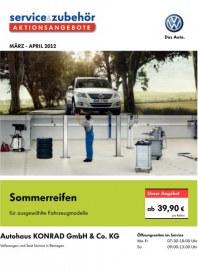 Volkswagen Aktionsangebote  im Frühjahr 2012 März 2012 KW09