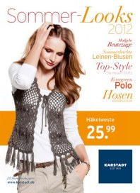 KARSTADT Karstadt Mode - Sommer-Looks April 2012 KW14