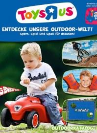 Toys'R'us Entdecke unsere Outdoor-Welt März 2012 KW09