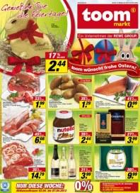 toom markt Genießen Sie die Feiertage April 2012 KW14
