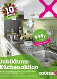 mömax Jubiläums-Küchenaktion März 2012 KW13