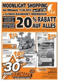 Globus Baumarkt wünscht Ihnen Frohe Ostern April 2012 KW15