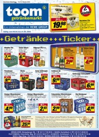 Toom Getränke Trinken und Gewinnen April 2012 KW15