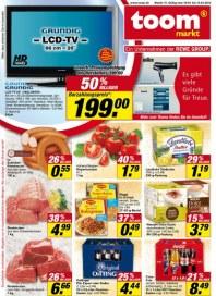 toom markt Noch mehr Einkaufserlebnis April 2012 KW15