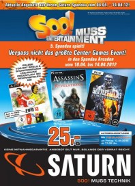 Saturn So ist Entertainment April 2012 KW14