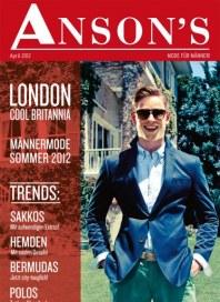 Anson's Mode für Männer April 2012 KW15