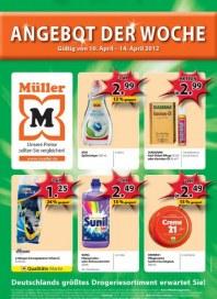 Müller Angebot der Woche April 2012 KW15