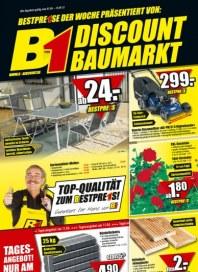 B1 Discount-Baumarkt Bestpreise der Woche April 2012 KW14