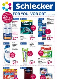 SCHLECKER For You April 2012 KW15