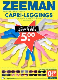 Zeeman Capri-Leggings April 2012 KW14