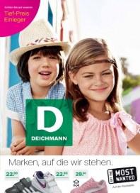 Deichmann Marken, auf die wir stehen! Im Sommer 2012 März 2012 KW13