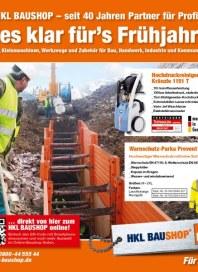 HKL Baumaschinen Alles klar fürs Frühjahr! Für den Frühling 2012 März 2012 KW09