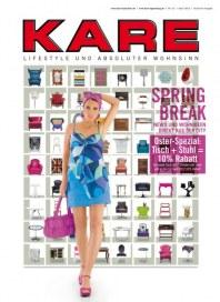 Kare Spring Break im April 2012 März 2012 KW13