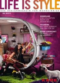 Kare Kare - Life is Style. Im Frühling 2012 November 2011 KW45