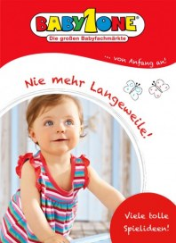 BabyOne Nie mehr Langeweile April 2012 KW15