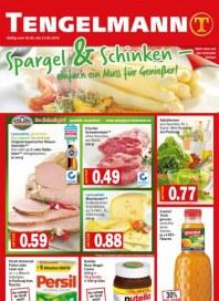 Tengelmann Spargel und Schinken - einfach ein Muss für Genießer April 2012 KW16