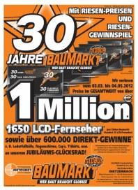 Globus Baumarkt Riesen-Preis-Angebote April 2012 KW16