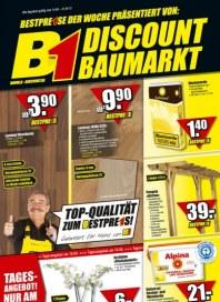 B1 Discount-Baumarkt Top-Qualität April 2012 KW15